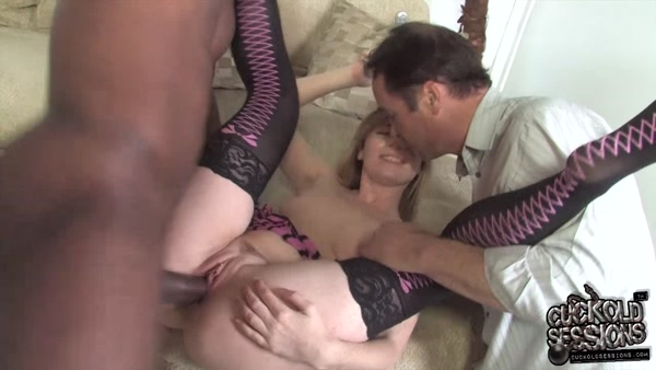 CuckoldSessions - Allison Wyte - Cuckold, Forced Blowjob