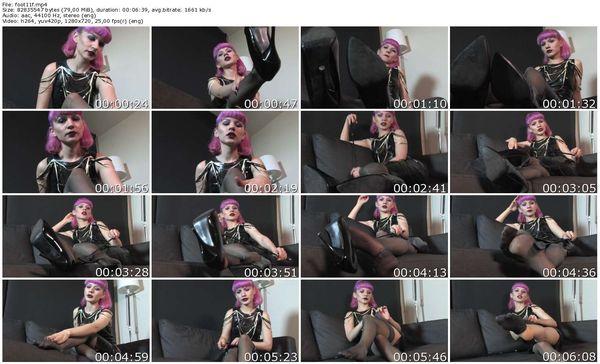 FemmeFataleFilms - Miss Eris - Foot Love part 1-2 update