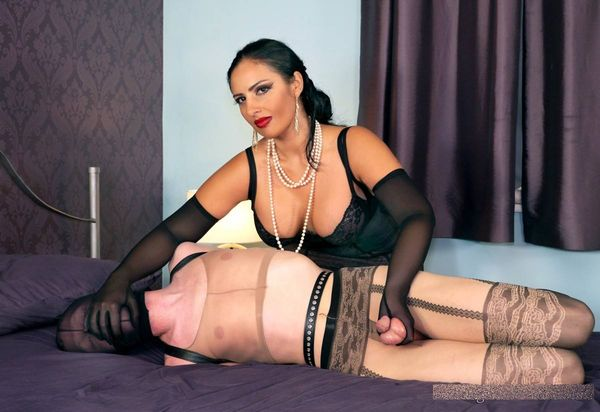TheEnglishMansion - Mistress Ezada Sinn - Hogtied Toy complete