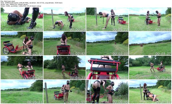 TheEnglishMansion - Mistress Lola Ruin - Ridden Hard part 1-3 update