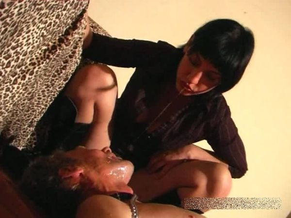 FemdomShed - Nasty Mistress - SPITTING ORANGE JUICE IN MOUTH