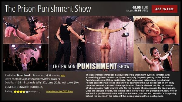 (22.12.2015) The Prison Punishment Show