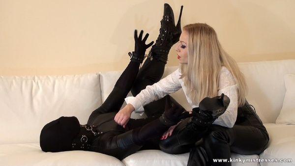 KinkyMistresses - Mistress Lilse - My Slave In Black