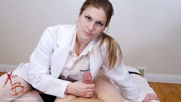 Clips4sale - Xev Bellringer - Nurse's Ball Draining Treatment