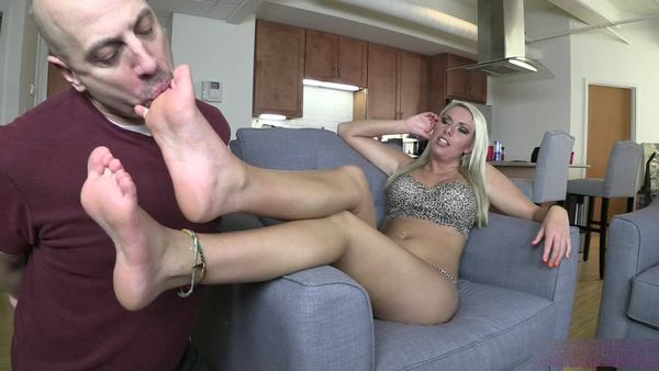 BratPrincess - Cherry - Bratty Foot Worship with Mr Puckerman