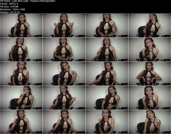 Lady Nina Leigh - Poppers Addiction Training