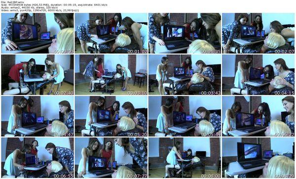 BratPrincess - Jennifer, Kendall and Sara Luvv - Rewire sissy to Love Big Black Cock Part 2