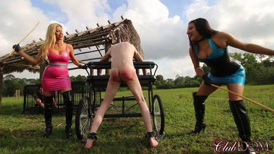 Clubdom - Alexis Fawx & Michelle Lacy Caning