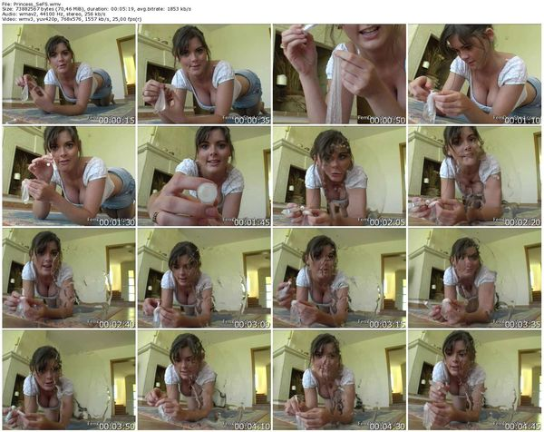 FemdomShed - Princess Sera - MARCUS'S CUM IN YOUR FACE