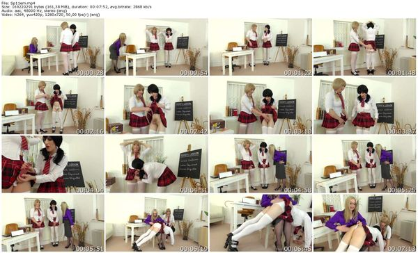 TheEnglishMansion - Miss Eve Harper, Natalie Goth, Tiffany Real Doll - Special Girls Detention Pt1 part 1-4 update