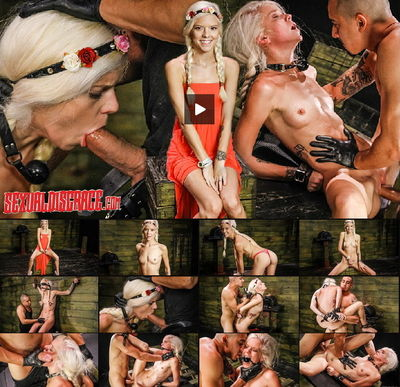 Sexual Disgrace - Halle Von Sexual Disgrace Hollering Hippy