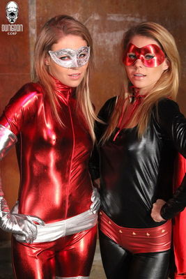 Mighty Girlz - The Super Russo Duo in Trouble - Taylor and Tati Russo, Duchess Scarlett
