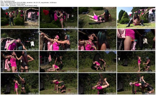TheEnglishMansion - Mistress Amrita - Hung Out To Dry complete