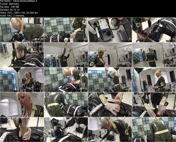 Domina Kate - Tubed and breathless 1-4