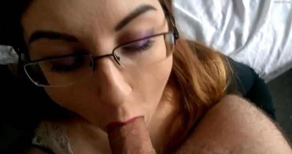 Step Sister Sucking Cock And Gets Sloppy Facial Cumshot HD