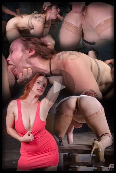 (28.03.2016) Bella Rossi BaRS show continues with rough doggy style fucking and drooling BBC deepthroat