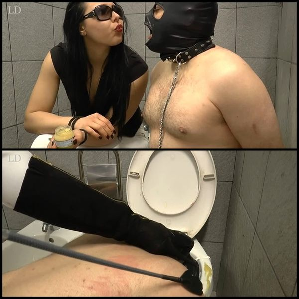 (11.04.2016)惩罚我的厕所的奴隶