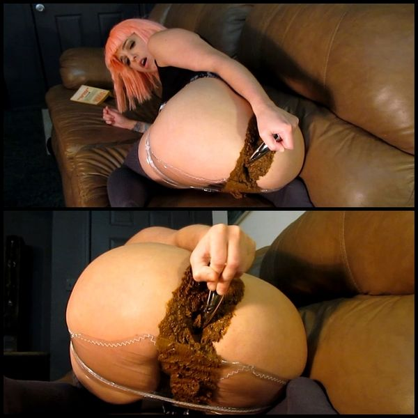 Huge Turd Smash in Plastic Panties