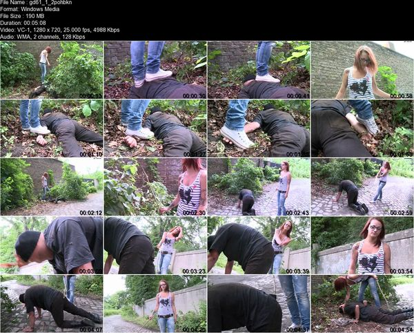Schlagendegirls - Mira - Punishment for disturbing public order  Part 1-5