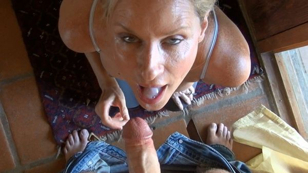 Realize, told... son cums in mom mouth are