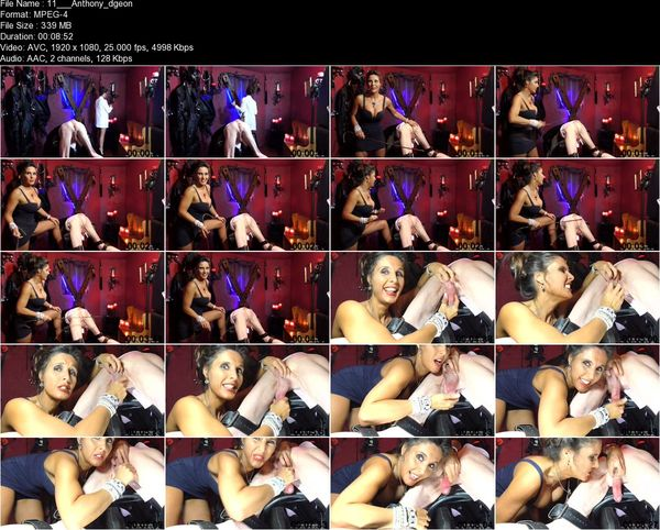 Dominatrix Annabelle - Office Seductress - In the Dungeon! (Part 3)