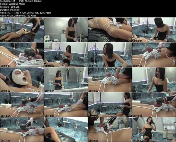 Kates Palace - Miss Monique Marneffe - Madly Aroused Part 1-3