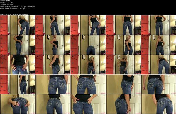 Erotic Nikki - Tight Ass Jeans