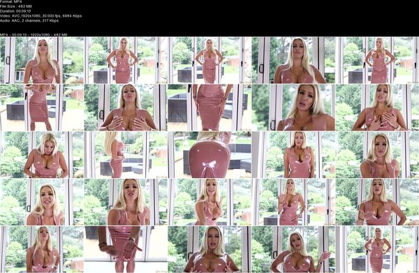 Dannii Harwood - Timed Blackmail Addiction