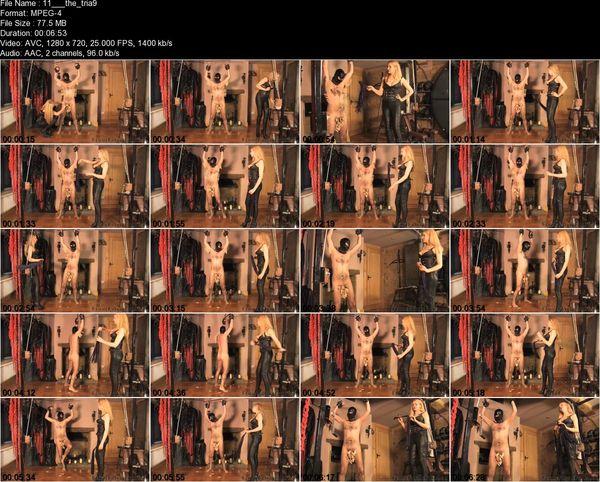 FemmeFataleFilms - Mistress Eleise de Lacy - The Trial Of A Slave Part 1-10