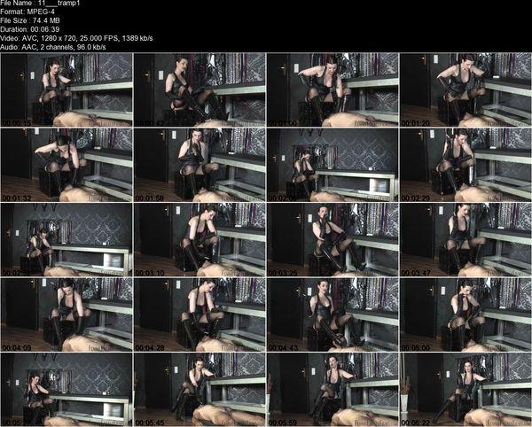 FemmeFataleFilms - Lady Victoria Valente - Trampling The Ashtray Part 1