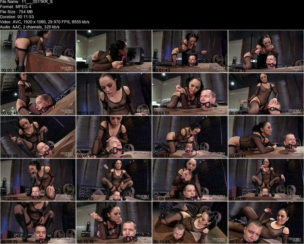Femdomempire - Kristina Rose -  Mucus Drenched Degradation