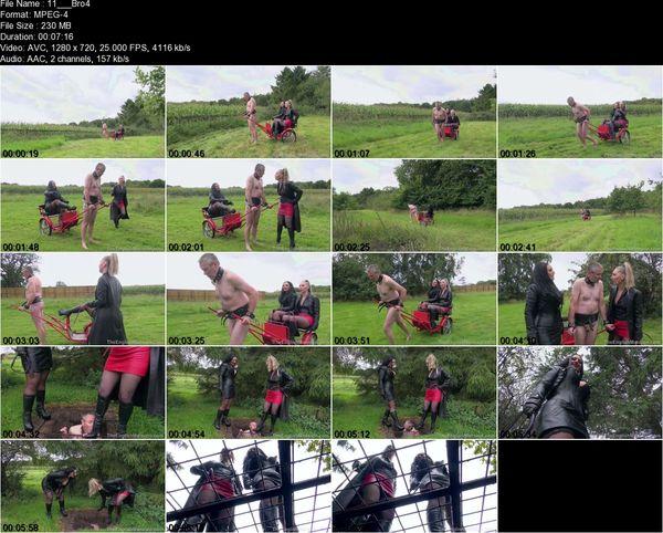 TheEnglishMansion - Mistress Ezada Sinn, Mistress Sidonia - Broken Reprogrammed Repaired Pt2 Part 1-4