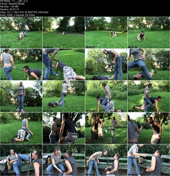Schlagendegirls - A peaceful pedestrian  Part 1-4
