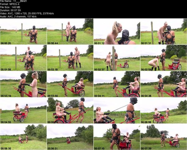 TheEnglishMansion - Mistress Sidonia - Blind Obedience Part 1