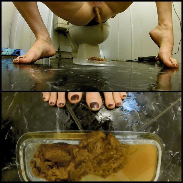 (29.08.2016) Foot View Velvet Mini Dress Poop Instructions