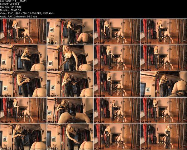 FemmeFataleFilms - Mistress Eleise de Lacy - The Trial Of A Slave Part 1-11