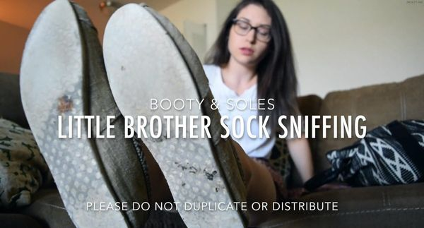 Booty and Soles – Little Brother Foot Slave HD