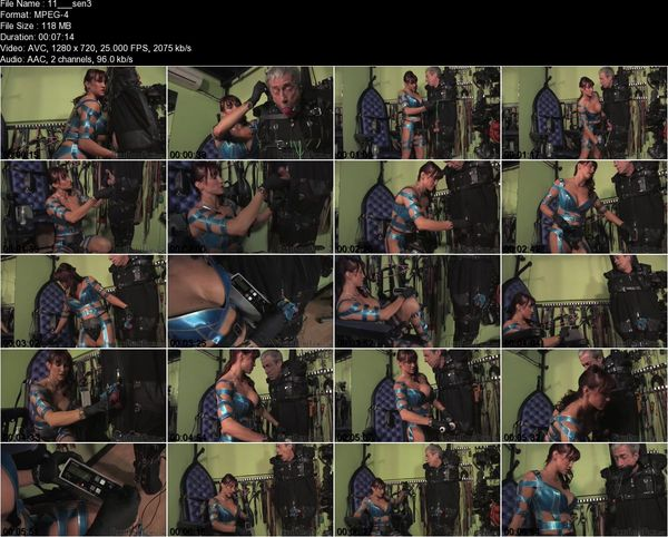 FemmeFataleFilms - Miss Miranda - Sensory Test Part 1-3