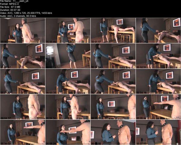 FemmeFataleFilms - Miss Amy Hunter - Earn Your Leash Part 1-4