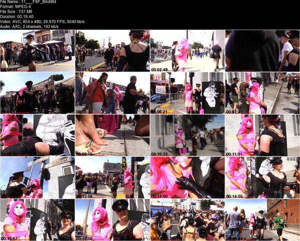 Aliceinbondageland - Folsom Street Fair Public Humiliation - Crossdressing Leash Laws - San Francisco FemDom