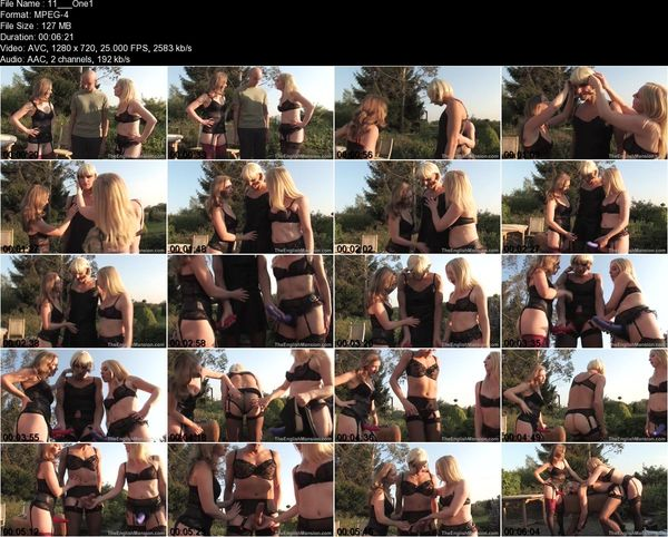 TheEnglishMansion - Mistress Sidonia, Mistress T - One of The Girls Part 1-3