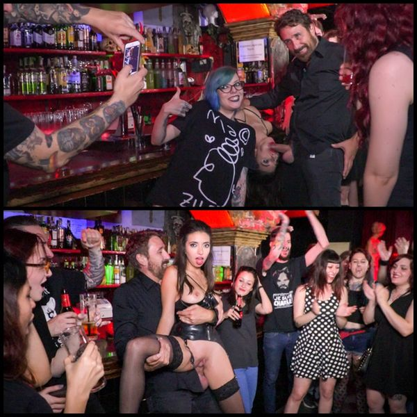 (03.10.2016) Underground Goth Club turns into a Wild Fuck Party