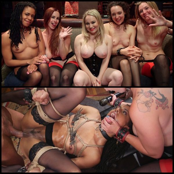 (04.10.2016) Slave Orgy Unchained