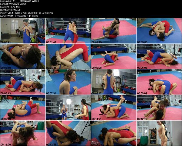 Supergirls - Mistress Mira, Lana - 'MIRA Vs LANA F/F Wrestling Olympic Style' REAL FIGHT!!!
