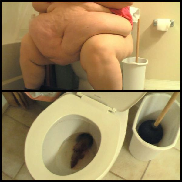 SSBBW Tiffany Cushinberry takes a dump