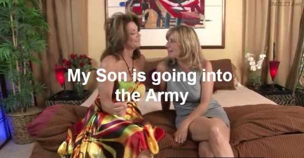 My son is going into the ARMY!