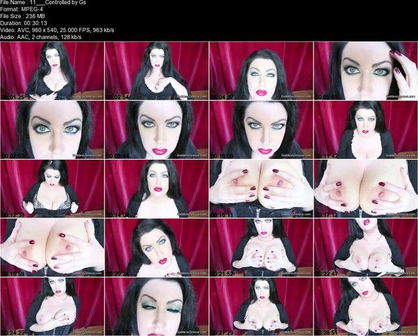 Goddess Zenova - Controlled by Goddess Zenova's Eyes and Breasts