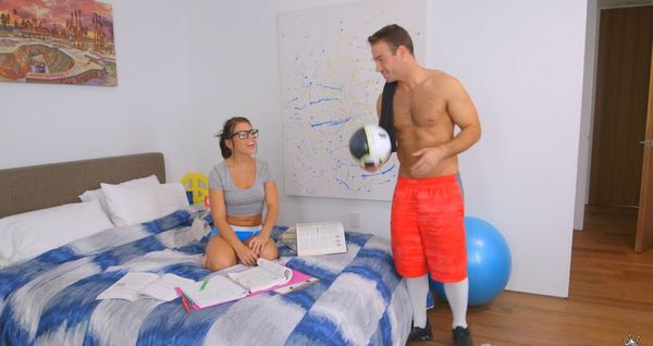 Study Break – Adriana Chechik HD