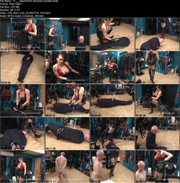 Thebondagemistressclub - Deportment and Boot Worship  Part 1-2