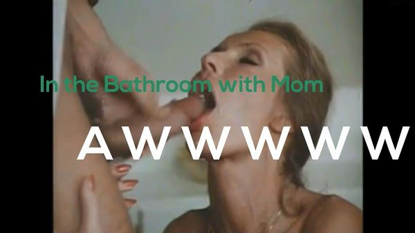 Classic Mom-Son Incest In The Bathroom!